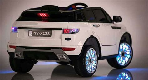 range rover hse style ride on jeep electric car 12v white
