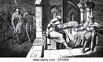 The Holy Roman Emperor Heinrich IV does penance at Canossa ...