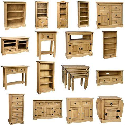 Pine Bookcases Furniture by Corona Solid Pine Mexican Living Room Waxed Furniture