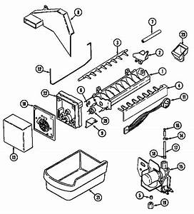 Norge Refrigeration Wiring Information Parts
