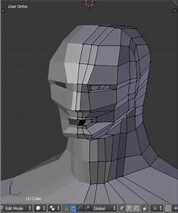 Human Head Modelling In Blender