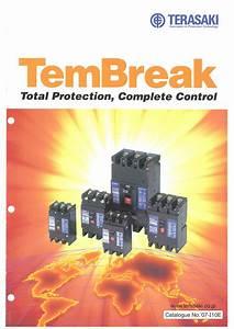 H  Mccb Old Model Tembreak Catalogue  U0026 Operation Manual