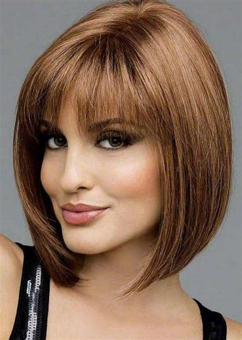 short bob hairstyle with bangs 35 awesome bob haircuts with bangs makes you truly