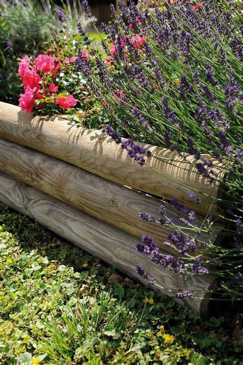 bordures de jardin en bois bordure massif en bois cuisinelist info