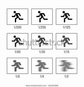 Photography Cheat Sheet Cameras Manual Icons Stock Vector