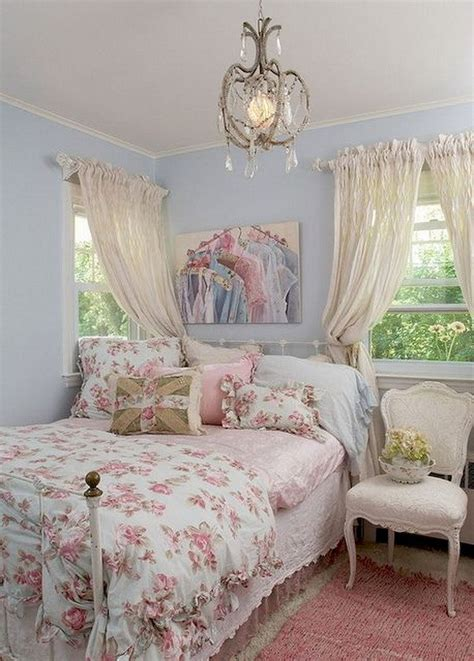60 Romantic Shabby Chic Bedroom Decorating Ideas Wholiving