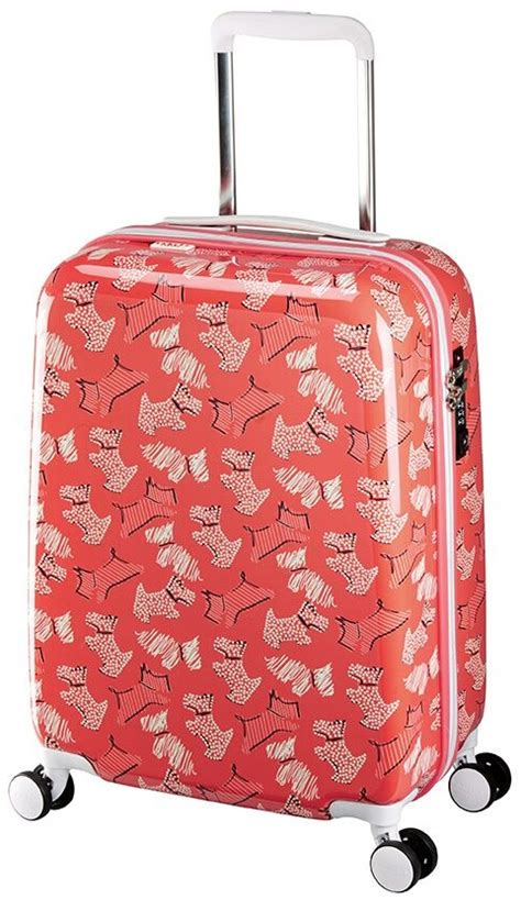 radley luggage fleet street small hardside spinner