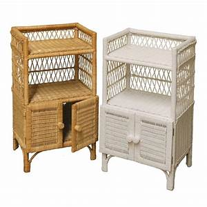Wicker bathroom stand for Wicker stands bathrooms