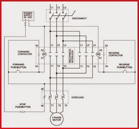 Diagram Phase Reversing Motor Control With Vdc