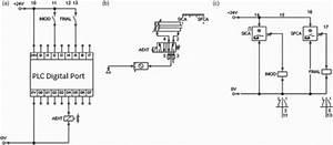 A  Plc I  O Example Diagram  B  Pneumatic Example Diagram
