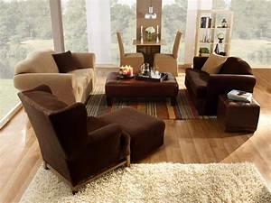 Unbelievable slipcovers for living and dining rooms hgtv for Furniture covers for decorating
