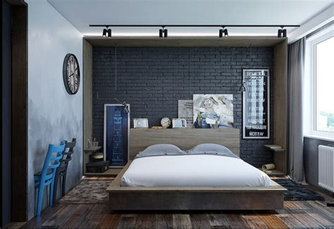 decoration chambre adulte textures art  luminaires