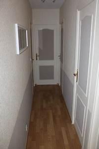 Couleur Peinture Couloir : peindre couloir deux couleurs 1 peindre un soubassement dans une entr233e ou un couloir ~ Mglfilm.com Idées de Décoration