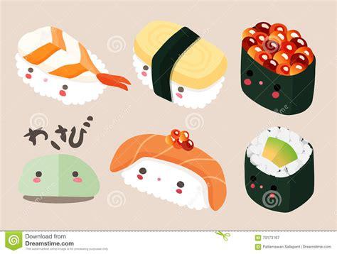 cuisine kawaii kawaii food sushi