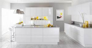 Excellent white contemporary kitchen cabinets 85 to your for Hometown kitchen furniture
