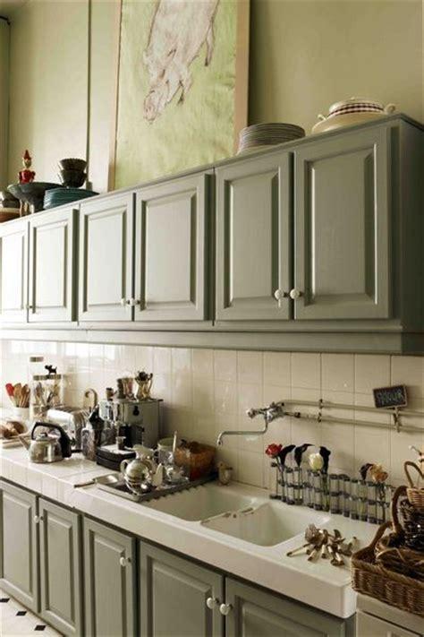 cuisine moderne dans maison ancienne couleur dans la cuisine osez le vert pomme vert gazon