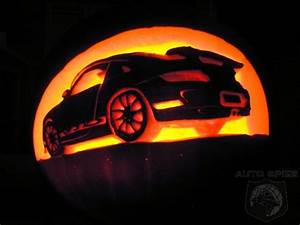How To Carve Your Own Automotive Themed Halloween Pumpkin ...