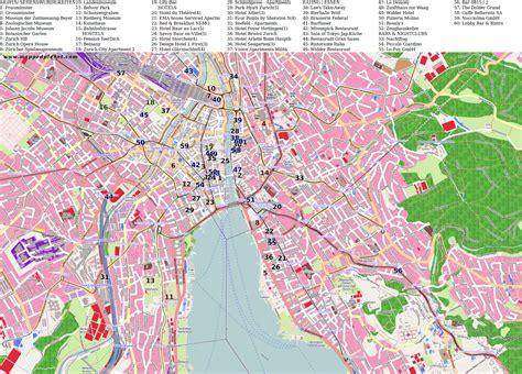 city maps zurich