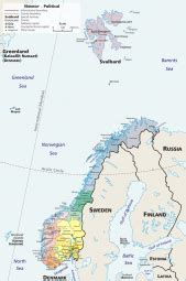 Ģeogrāfiskā karte - Norvēģija - 677 x 1,023 Pikselis - 421 ...