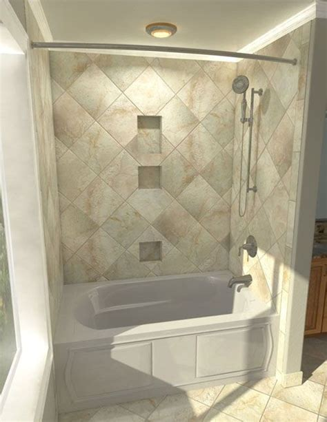 Decorating Ideas Tub Surround by Sophisticated Bathroom Tile Home Interior Decoration