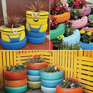 Decorate your Garden with these 7 Recycled products Slide