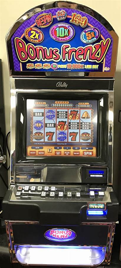 Bonus Slot Bally Frenzy M9000 Poker Machines