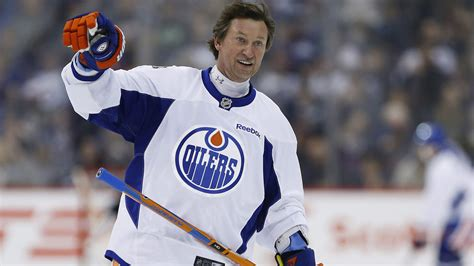 Wayne Gretzky Back With The Nhl Returns To La As An