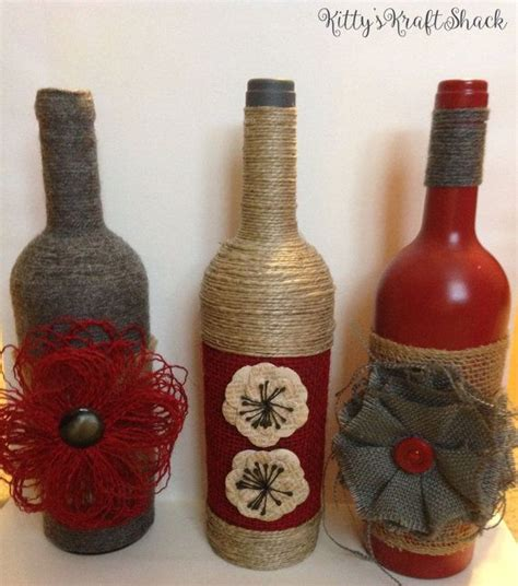 Decorative Wine Bottles Crafts by Best 25 Decorative Wine Bottles Ideas On