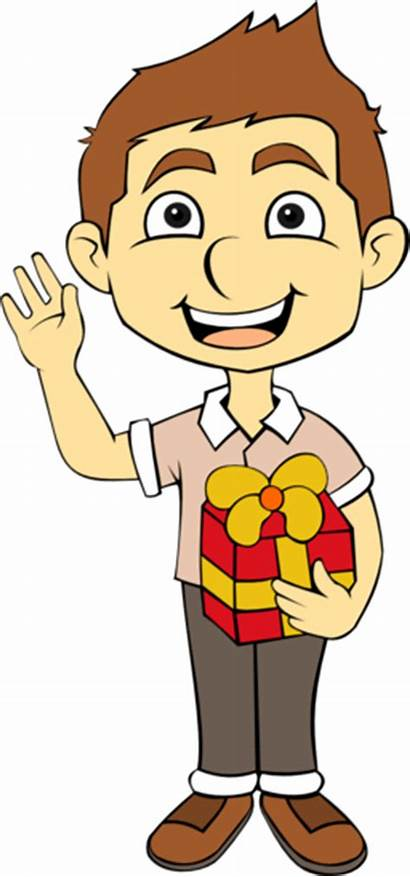 Clipart Child Gift طفل صوره هديه يمسك