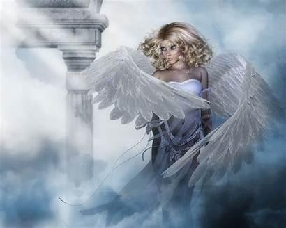Heaven Angels Angel Wallpapers Wings Desktop Fantasy