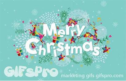 Merry Christmas Gifs Greeting Animated Contemporary Favorites
