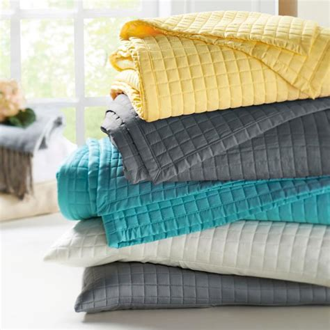 Bamboo Coverlet by Bamboo From Rayon Quilted Coverlet And Shams Grandin Road