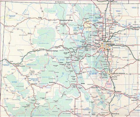colorado street map