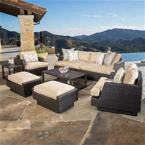 portofino comfort 7 seating set in espresso
