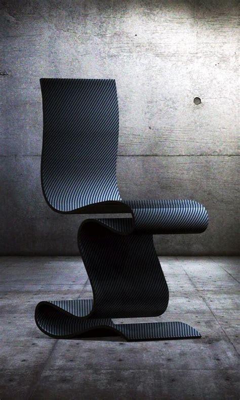 sculpture carbon fiber chair  ventury lab design