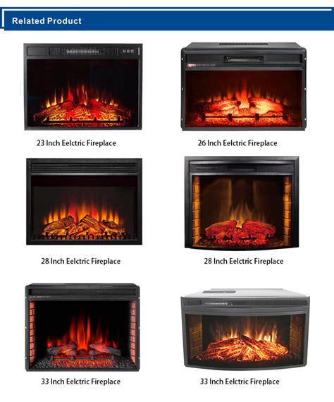 decorative chimenea electrica led electric fireplace