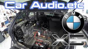Bmw X5 Stereo  U0026 Amp Replacement  Big Job
