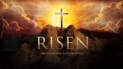 Jesus Resurrection Easter Risen Happy Background Desktop