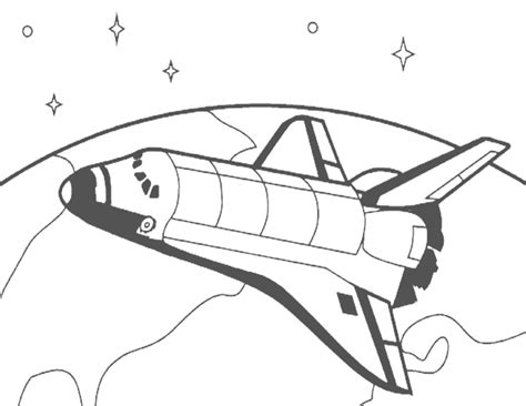 space shuttle clipart black and white curious george clip free coloring home