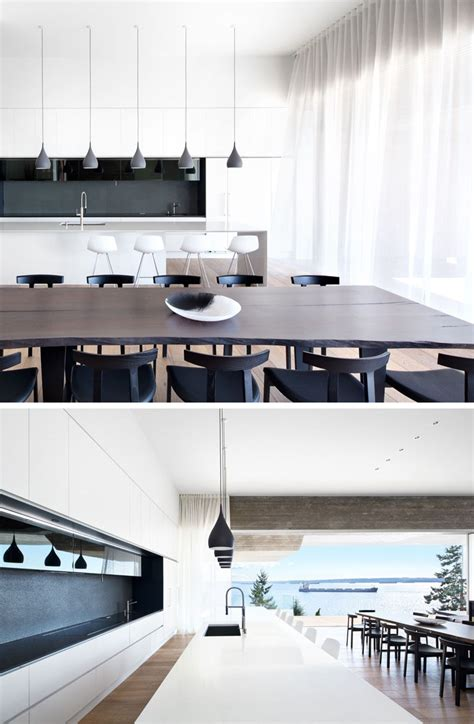 white kitchen flooring this new house in vancouver is designed to take advantage 1041