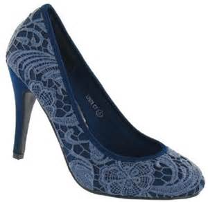 navy blue bridesmaid shoes navy blue lace court shoes wedding shoes by perdita 39 s