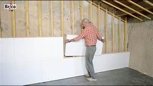 Isolation Mur Intérieur Polyuréthane : poser des panneaux isolants avec finition d corative ~ Melissatoandfro.com Idées de Décoration