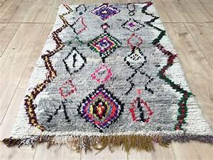 Tapis Berbere Ikea : east unique vintage moroccan rug tapis berbere azilal 135 88 cm a 036 ~ Teatrodelosmanantiales.com Idées de Décoration