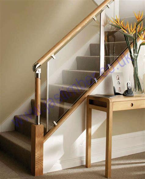 richard burbidge banisters fusion clear acrylic landing stair panels