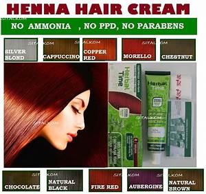 Henna Hair Cream 75 Ml 100 Natural Dye No AmmoniaPPD