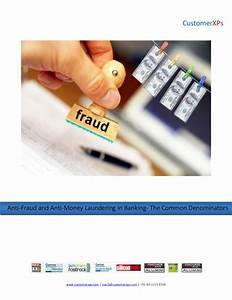 Anti-Fraud and Anti-Money Laundering in Banking- The ...