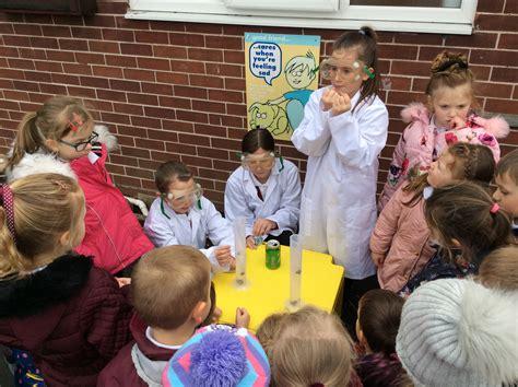 science ambassadors hillside primary school baddeley green staffordshire