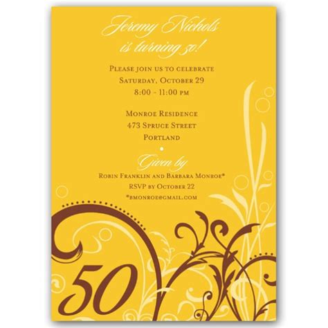 cabiri gold  birthday invitations paperstyle