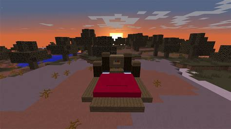 fancy realistic bed  minecraft youtube