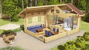 Holzhaus Günstig Bauen : gartenhaus holz mit schlafboden ~ Sanjose-hotels-ca.com Haus und Dekorationen